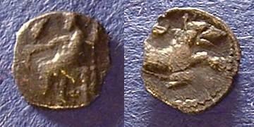 Ancient Coins - Tarsos Cilicia AR Obol Circa 350 BC