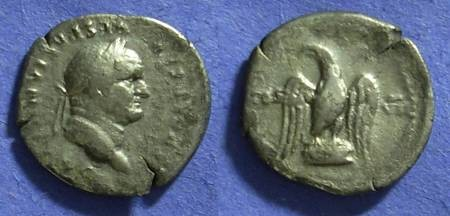 Ancient Coins - Vespasian 69-79AD Denarius