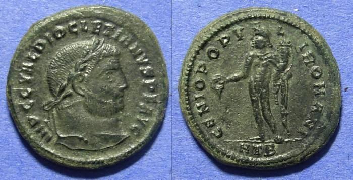 Ancient Coins - Diocletian 284-305 – Follis