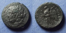 Ancient Coins - Syracuse Sicily, Hiketas II 287-278 BC, AE25