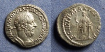 Ancient Coins - Roman Empire, Macrinus 217-8, Denarius