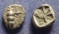 Ancient Coins - Ionia, Ephesos Circa 550 BC, Hemiobol
