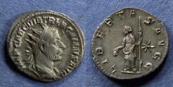 Ancient Coins - Roman Empire, Trebonianus Gallus 251-253, Antoninianus