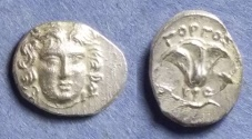 Ancient Coins - Rhodes, Gorgos - Magistrate 205-190 BC, Drachm