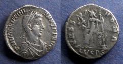 Ancient Coins - Roman Empire, Valentinian II 375-392, Siliqua
