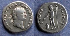 Ancient Coins - Roman Empire, Titus (as Caesar) 69-79, Denarius