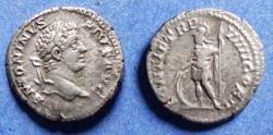 Ancient Coins - Roman Empire, Caracalla 198-217, Silver Denarius