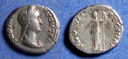 Ancient Coins - Roman Empire, Sabina 117-137, Silver Denarius