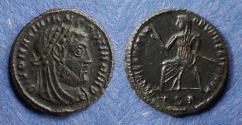 Ancient Coins - Roman Empire, Divus Maximianus d. 309, Half Follis