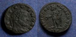 Ancient Coins - Roman Empire, Severus II (as Caesar) 305-6, 1/4 Follis