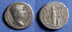 Ancient Coins - Roman Empire, Hadrian 117-138, Silver Denarius