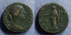 Ancient Coins - Roman Emipre, Faustina Jr 147-175, Aes