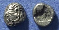 Ancient Coins - Ionia, Kolophon Circa 525 BC, Obol