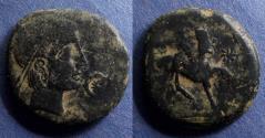 Ancient Coins - Spain, Castulo Circa 150 BC, AE26