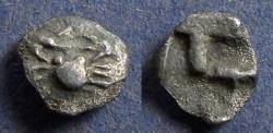 Ancient Coins - Islands off of Caria, Kos 500-480 BC, Hemiobol