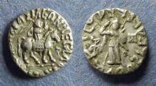 Ancient Coins - Indo-Scythian, Azes 58-12 BC, Drachm