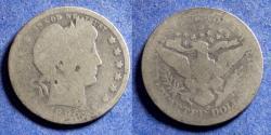 Us Coins - United States,  1896-O, Silver Barber Quarter, AG3
