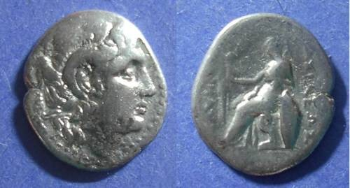 Ancient Coins - Kingdom of Thrace, Lysimachos 297-281 BC, Drachm