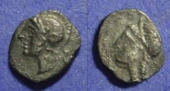 Ancient Coins - Uncertain (Holmoi?) Cilicia Circa 380 BC Obol