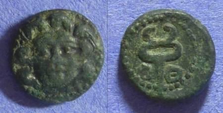 Ancient Coins - Aspendos Pamphylia - AE13 - Circa 300BC