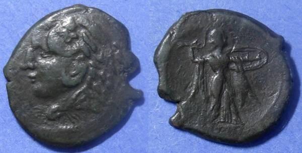 Ancient Coins - Syracuse Sicily, Pyrrhus 278-6 BC, AE 25