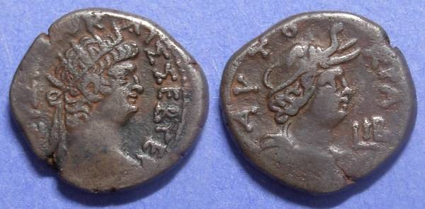 Ancient Coins - Roman Egypt, Nero 54-68, Tetradrachm