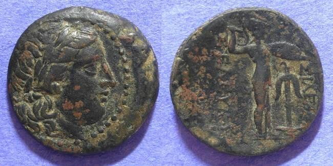 Ancient Coins - Seleucid Kingdom - Seleukos I 312-281 BC - AE23