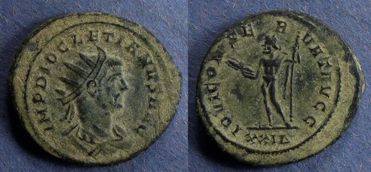 Ancient Coins - Roman Empire, Diocletian 284-305, Antoninianus