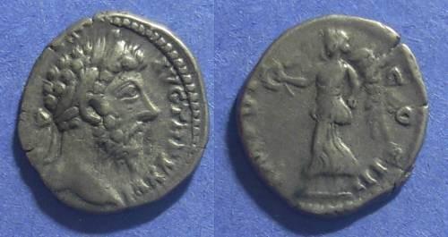 Ancient Coins - Roman Empire, Marcus Aurelius 161-180 AD, Denarius