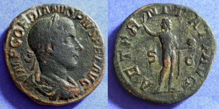 Ancient Coins - Gordian III 238-244 AD - Sestertius