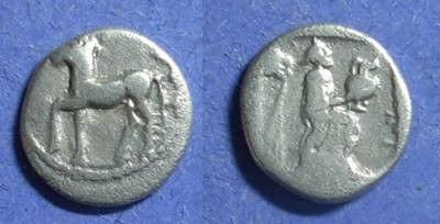 Ancient Coins - Larissa, Thessaly 479-460 BC, Obol