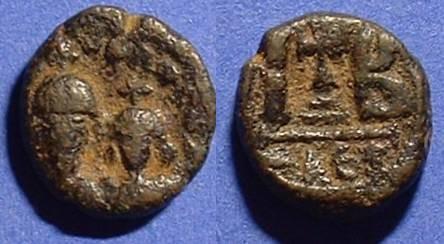 Ancient Coins - Heraclius and Heraclius Constantine 12 Nummi of Alexandria