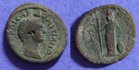 Ancient Coins - Domitian 81-96AD - AE 19 of Amphipolis Macedonia