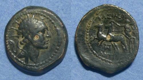 Ancient Coins - Seleucid Kingdom, Antiochos IV 175-164 BC, AE20