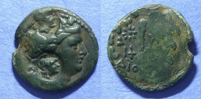 Ancient Coins - Dionysopolis, Moesia Circa 200 BC, AE21