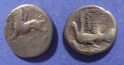 Ancient Coins - Sikyon,  360-330 BC, Hemidrachm