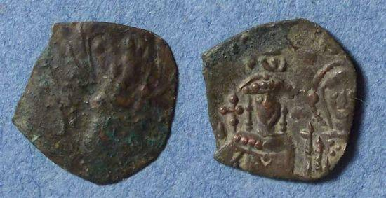Ancient Coins - Byzantine Empire at Nicaea, John III Ducas 1222-1254, Trachy