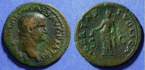 Ancient Coins - Roman Empire, Galba 68-9 AD, As