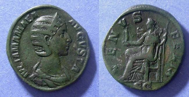 Ancient Coins - Roman Empire, Julia Mamaea 222-235, Sestertius