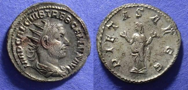 Ancient Coins - Trebonianus Gallus 251-3 Antoninianus