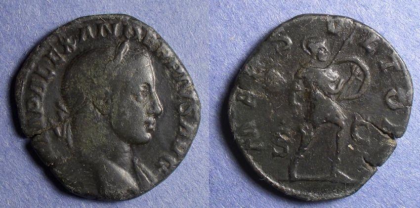 Ancient Coins - Roman Empire, Severus Alexander 235-222, Sestertius