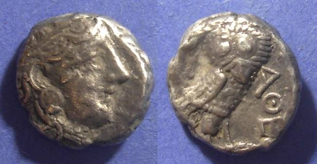 Ancient Coins - Eastern imitation of Athens,  Circa 330 BC, Tetradrachm