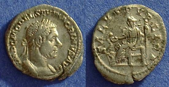 Ancient Coins - Macrinus 217-8 Denarius