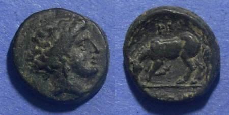 Ancient Coins - Larissa, Thessaly 400-344 BC, AE14