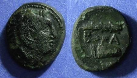 Ancient Coins - Macedonian Kingdom, Alexander III 336-323 BC, AE15x18