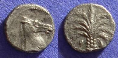 Ancient Coins - Carthage Zeugitana - AR Litra 320-310 BC - Rare