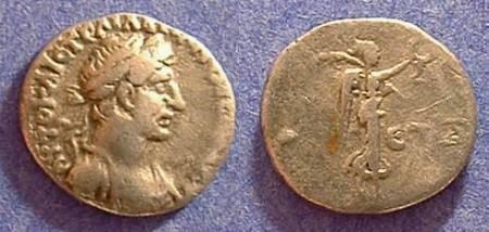 Ancient Coins - Hadrian 117-138AD - Hemidrachm of Caesarea Cappadocia