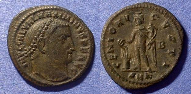 Ancient Coins - Maximinus II Daia (as Augustus) 309-313AD  Follis