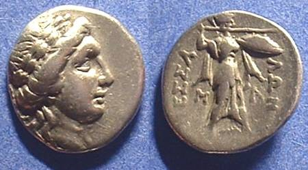 Ancient Coins - Thessalian League 196-146 BC Drachm