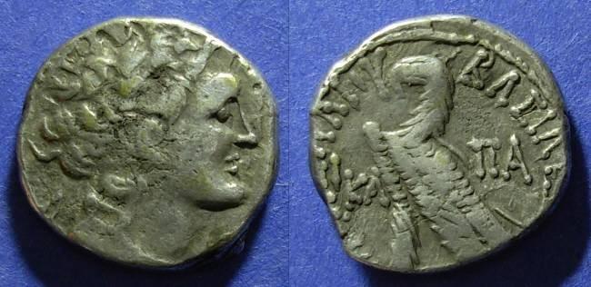 Ancient Coins - Egypt, Ptolemy X 101-88 BC, Tetradrachm